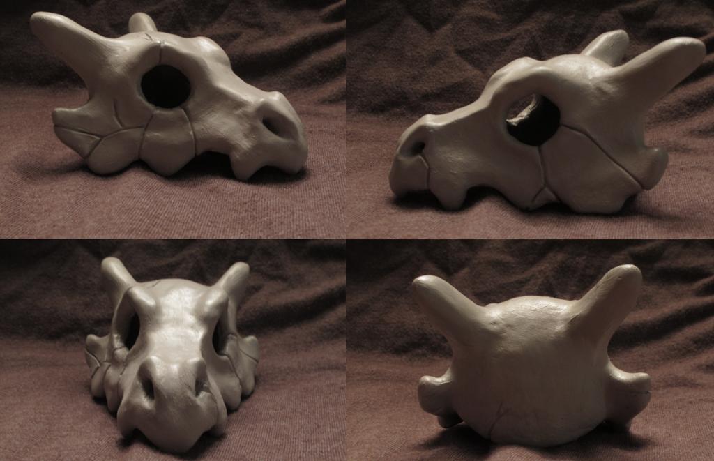 Cubone Skull 1