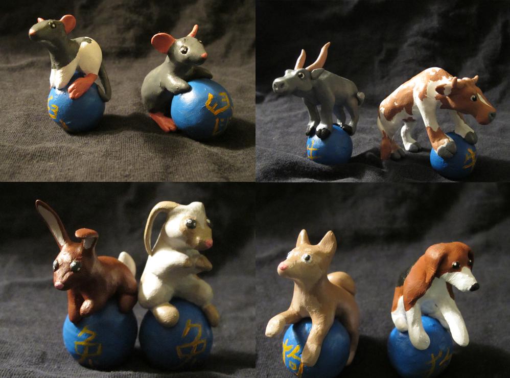 Chinese Zodiac animals 1