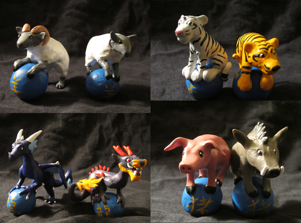 Chinese Zodiac animals 2