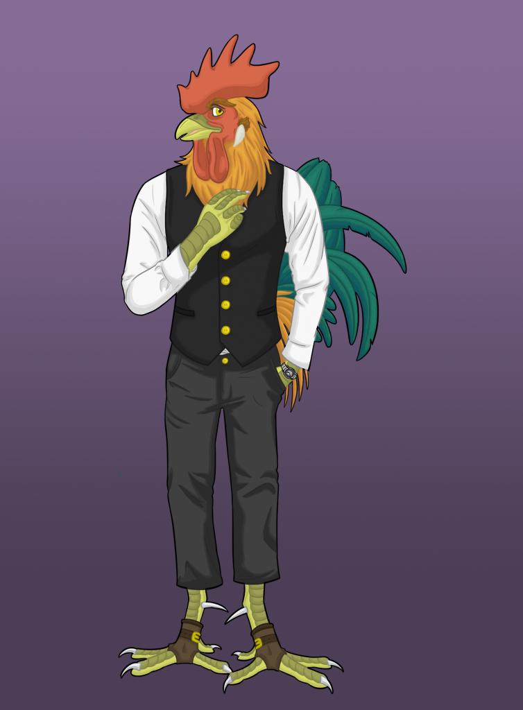 Viktor the rooster