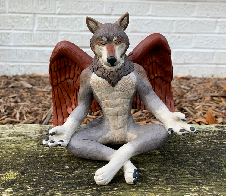 Winged Wolf 1